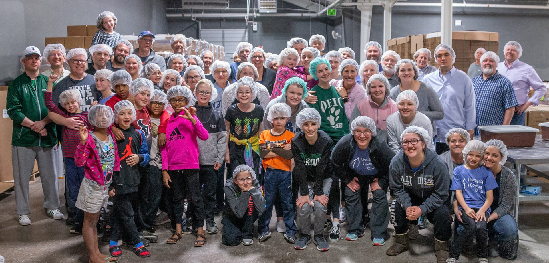 Libertyville Covenant Church at Feed My Starving Children in Libertyville IL